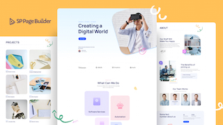 SP Page Builder 最新版型 - IT 解決方案